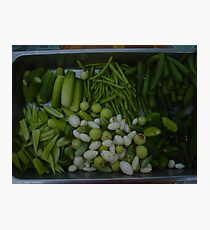 Steamed Thai Vegetables Photographic Print