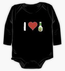 Ich liebe Ranch Baby Body Langarm