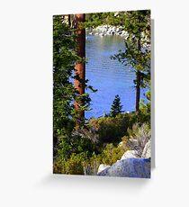 "'Tahoe Inlet"" Greeting Card"