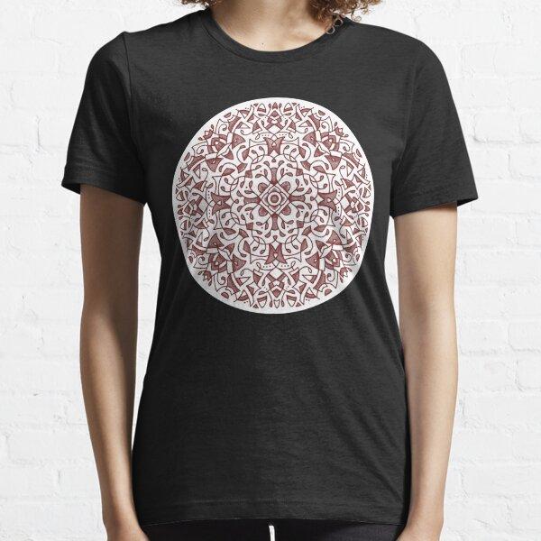 Rose crayon medallion 2018 Essential T-Shirt