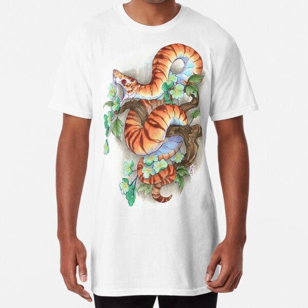 tiger snake Long T-Shirt