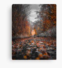 Herbstblätter Leinwanddruck
