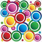 Lottsa Circles by Keith G. Hawley