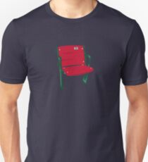 The Lone Red Seat - Fenway Park Unisex T-Shirt