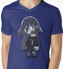 Tae Zombie Chibi V-Neck T-Shirt