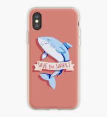 Speichere die Haie iPhone-Hülle & Cover
