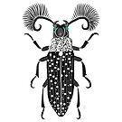 Absinthe Beetle by Emilie Otto