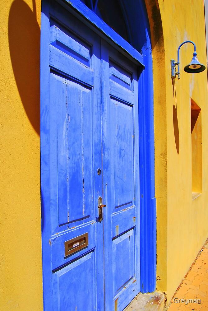 The Blue Door by Greyman