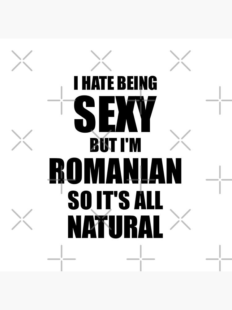 Sexy Romanian Husband Boyfriend Wife Romania Pride Funny Gift by FunnyGiftIdeas