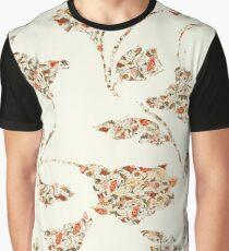 floral pattern on cream no 2 Graphic T-Shirt