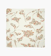 floral pattern on cream no 2 Scarf