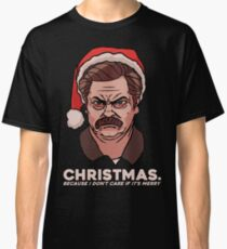 Ron Swanson Christmas Classic T-Shirt