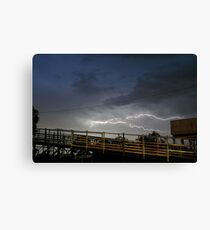 Flash Reminder - Weston NSW Canvas Print