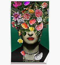 Selbstportrait Frida Kahlo Poster
