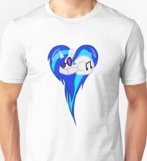 Vinyl Scratch DJ Pon3 Heart W/Glasses Unisex T-Shirt