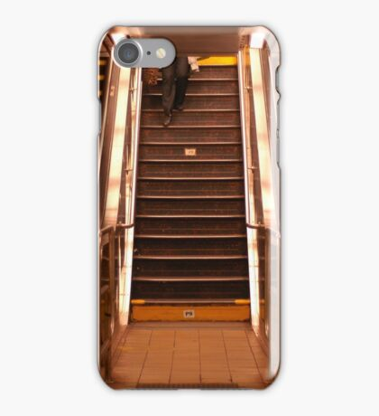 Escalators iPhone Case/Skin