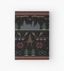 Ugly Potter Christmas Sweater Hardcover Journal