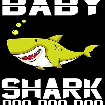 Cute Baby Shark T-Shirt Doo Doo Doo The Shark Family Apparel by mirabhd