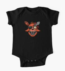 Five Nights at Freddy's 2 - Pixel art - Foxy Short Sleeve Baby One-Piece