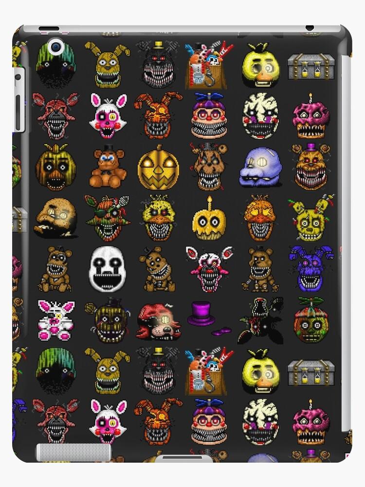Fünf Nächte im Freddy's - Pixel Kunst - Multiple Characters New Set von GEEKsomniac
