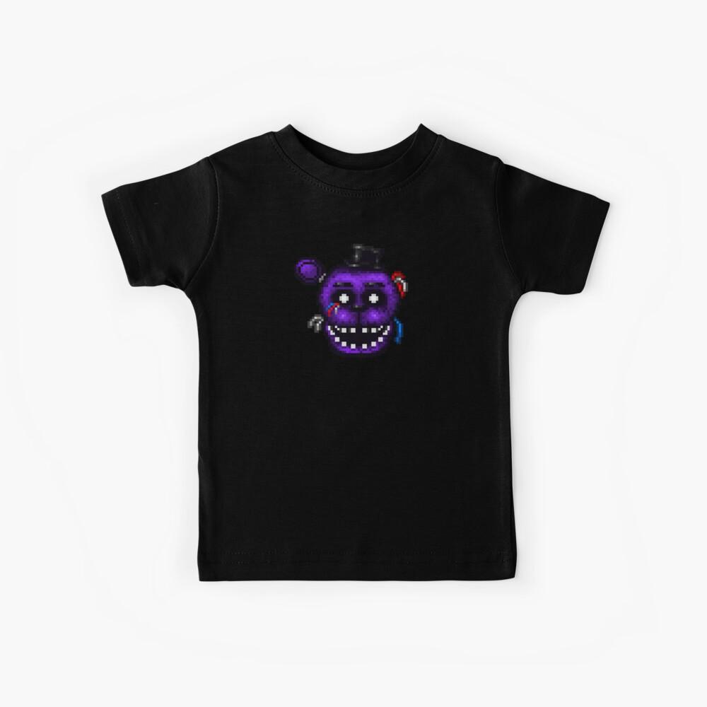 Fünf Nächte in Freddys 2 - Pixel Kunst - Shadow Freddy Kinder T-Shirt
