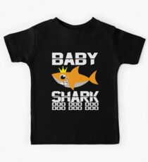 Neues 2019 Baby Shark doo doo Shirt für Haifischliebhaber-beste Babygeschenkidee Kinder T-Shirt