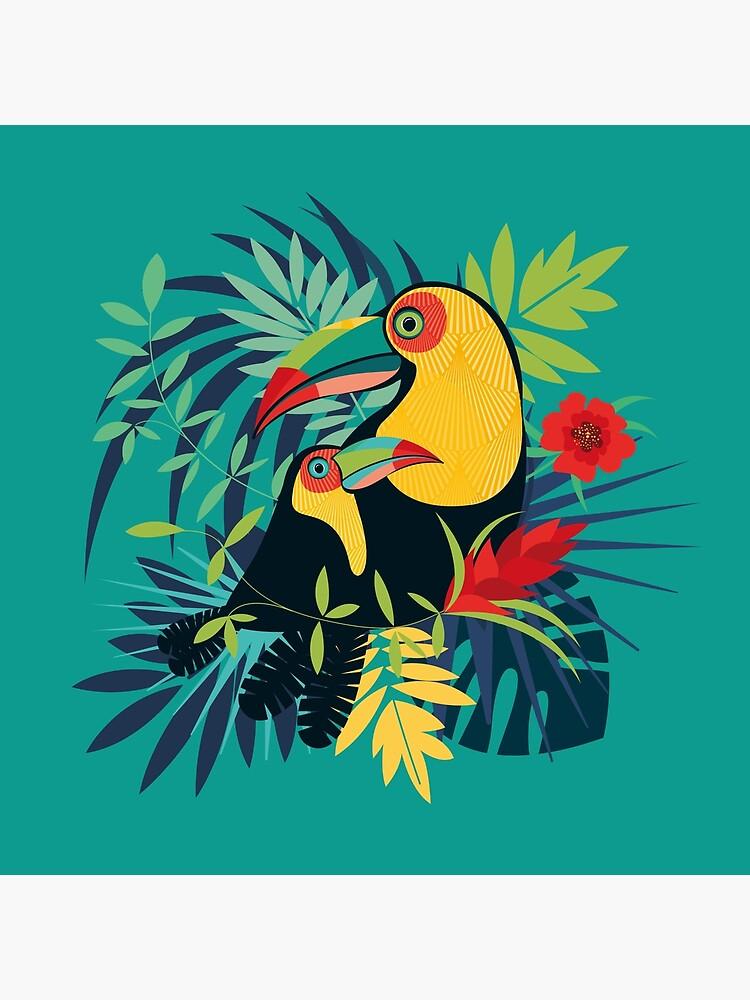 «Toucan Tropical» par OGraphinerie