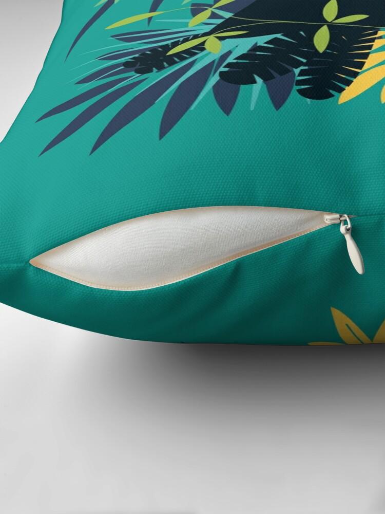 Coussin de sol ''Toucan Tropical': autre vue