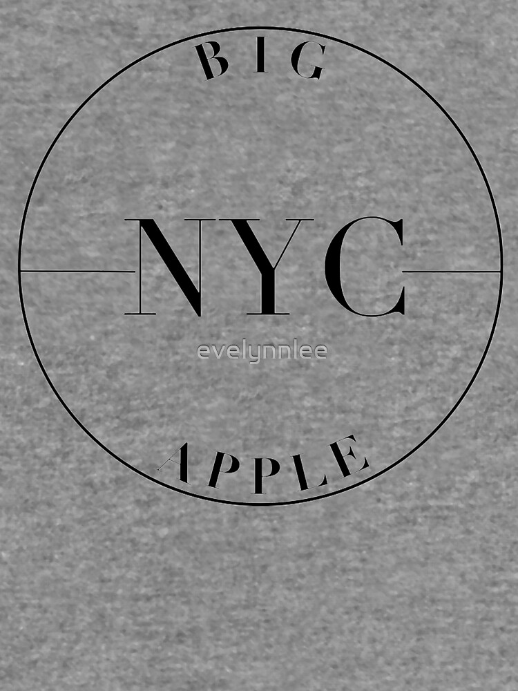 NYC Big Apple by evelynnlee