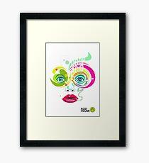 Drop Acid Framed Print