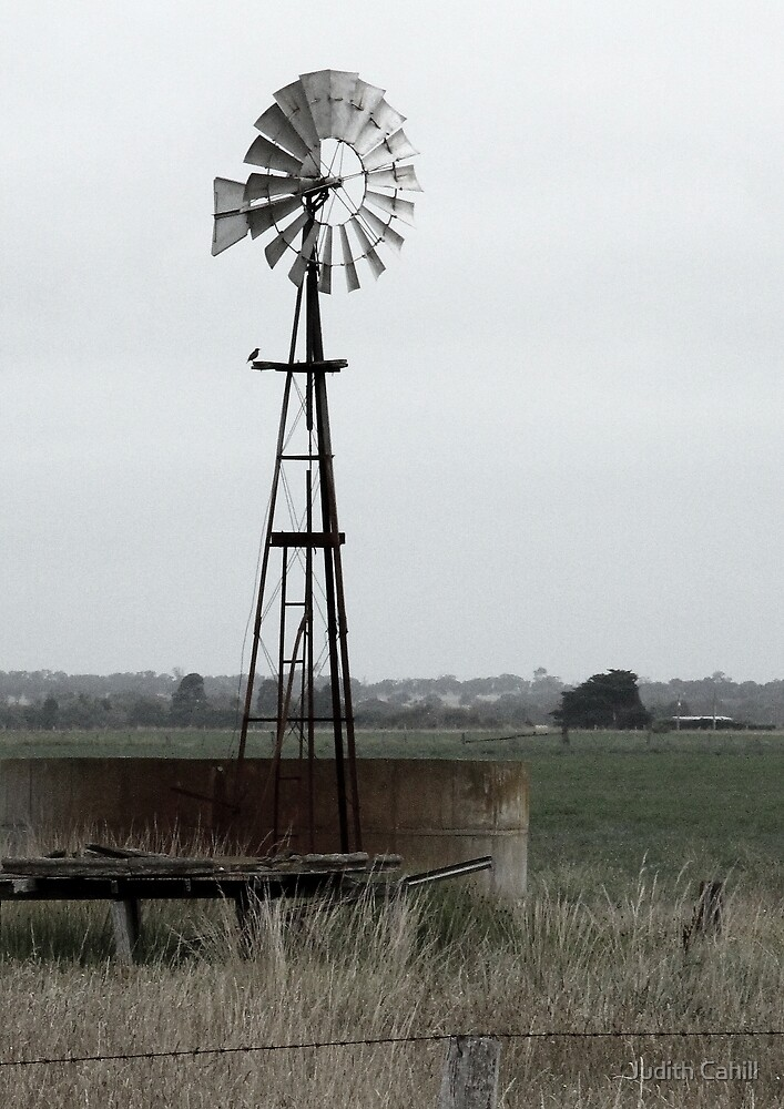 Water Pump by Judith Cahill