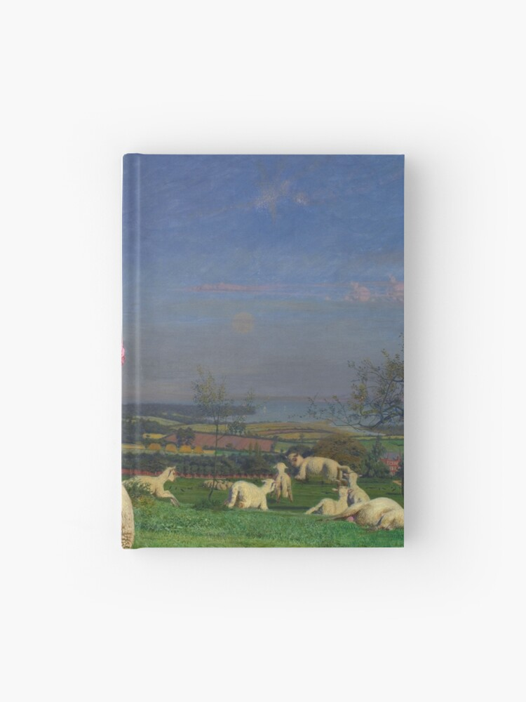 Pretty Baa Lambs Ford Madox Brown Hardcover Journal By Arthistorical Redbubble