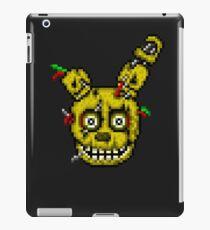 Fünf Nächte in Freddys 3 - Pixel Kunst - SpringTrap iPad-Hülle & Skin
