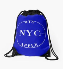NYC Big Apple Drawstring Bag