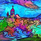 Church on the Hill. by Albert
