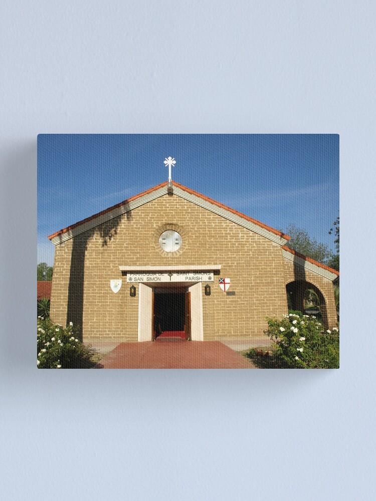 Alternate view of Church 1 Canvas Print