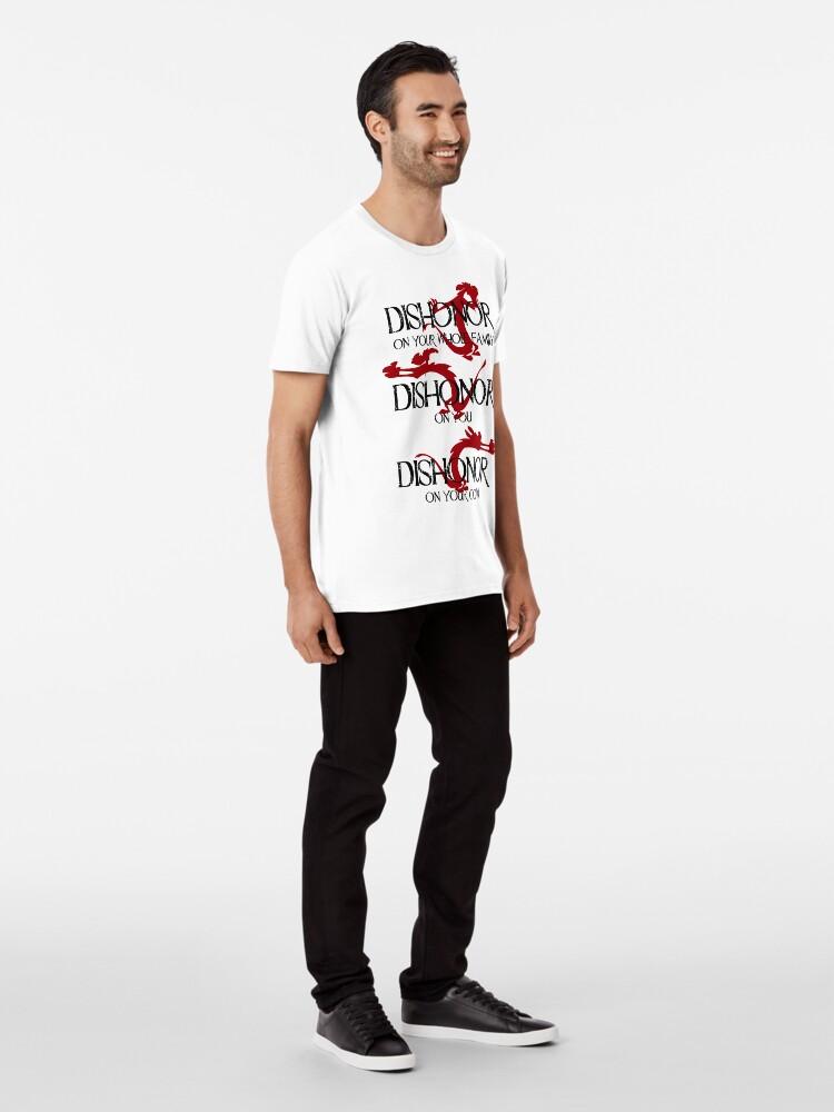 Alternate view of Dishonor! Premium T-Shirt