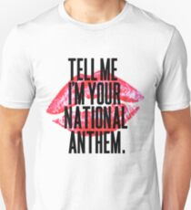 National Anthem Lips T-Shirt