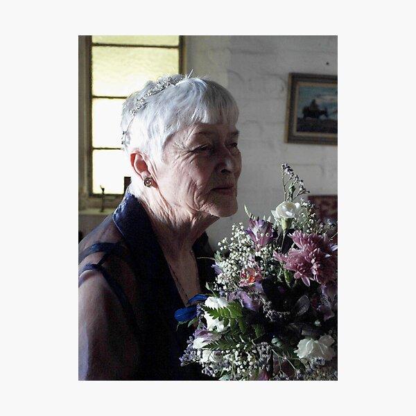 Rosie Flowers Photographic Print
