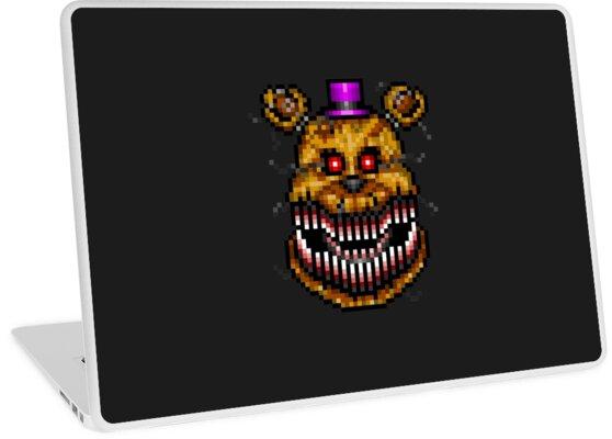 Five Nights at Freddys 4 - Nightmare Fredbear - Pixel art by GEEKsomniac