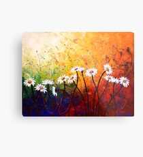 The Daisy Dance Metal Print
