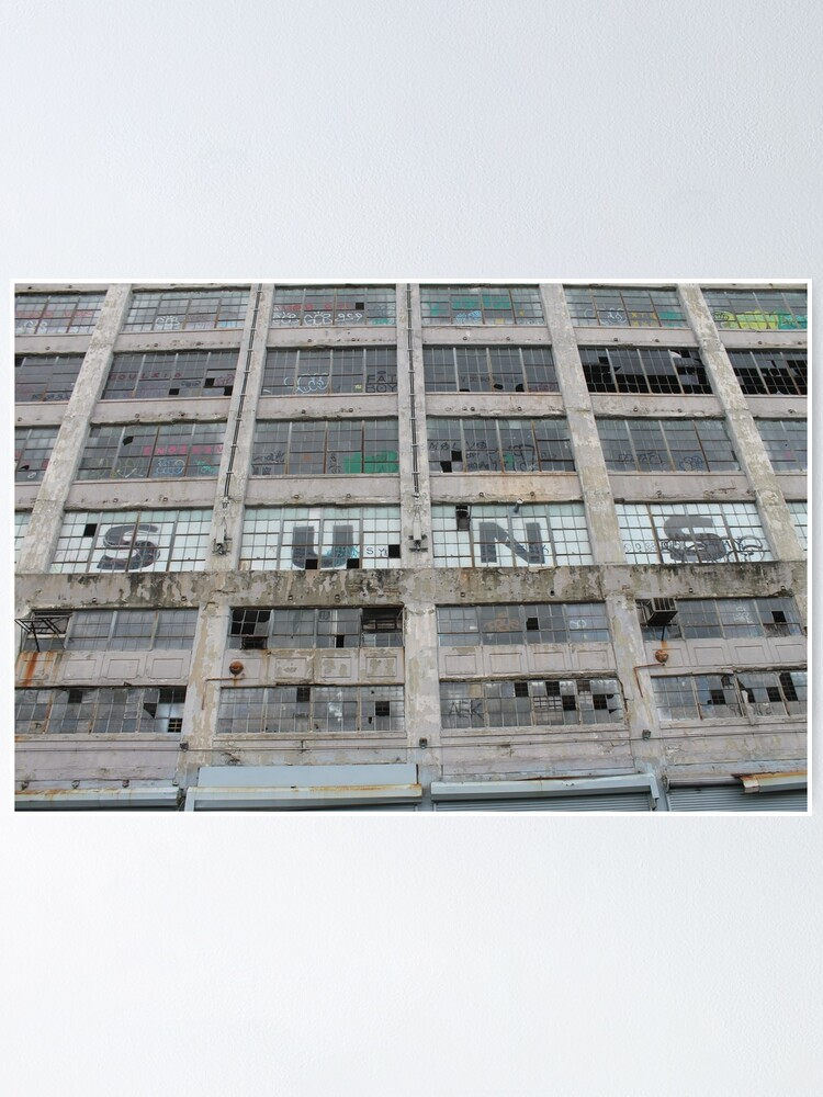 Alternate view of #architecture #modern #business #window #concrete #office #facade #city #apartment #finance #horizontal #colorimage #wide #builtstructure #glassmaterial #constructionindustry #nopeople #building Poster
