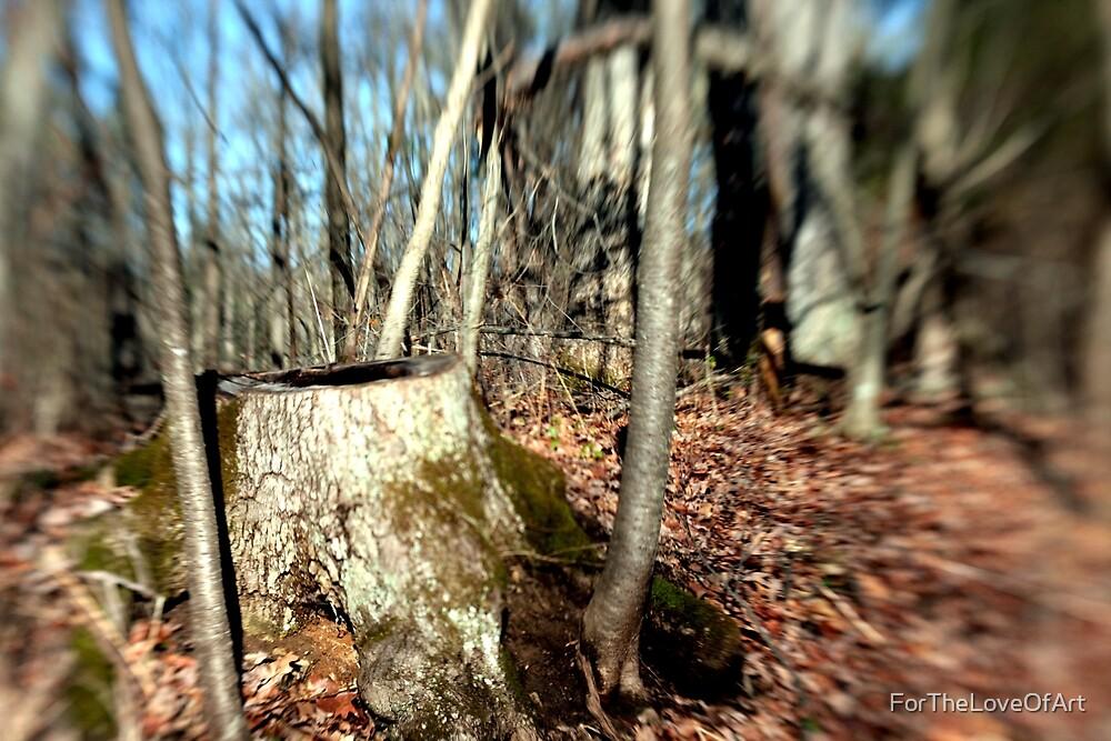 Tree Stump by ForTheLoveOfArt