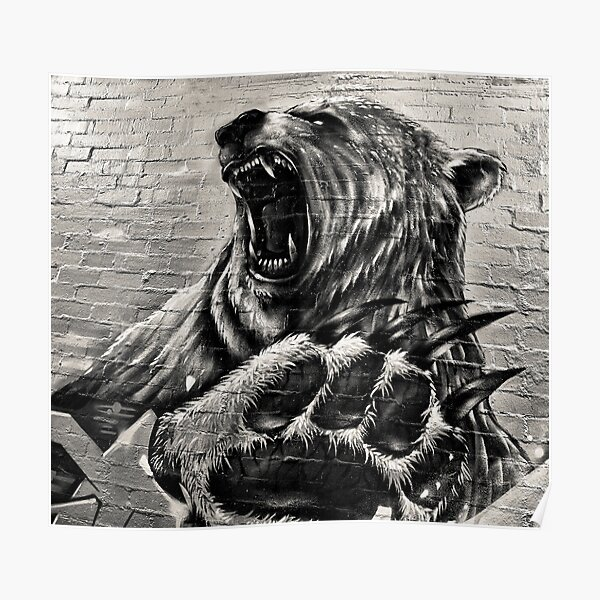Roaring Bear Poster