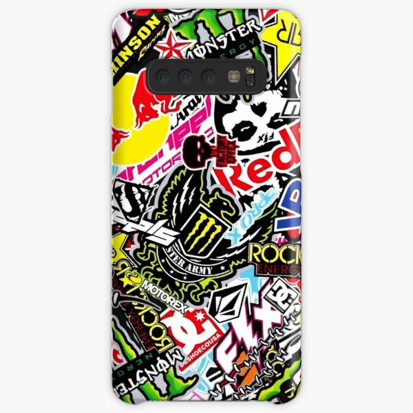 Sticker Logo Collage Samsung Galaxy Snap Case