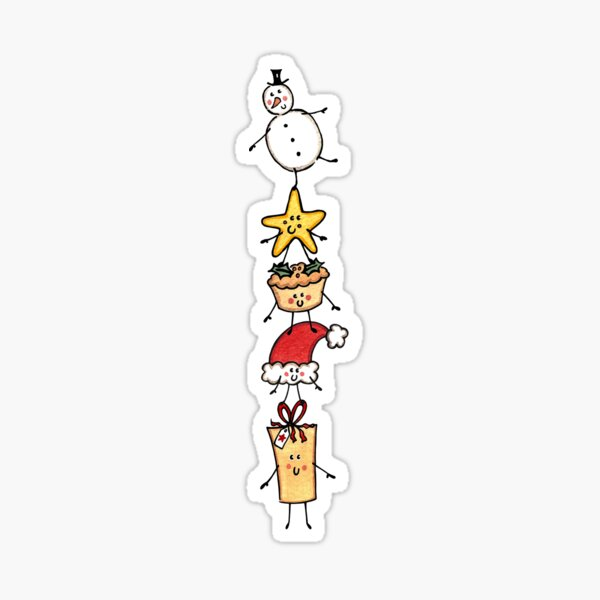 Christmas Crew 4 Sticker