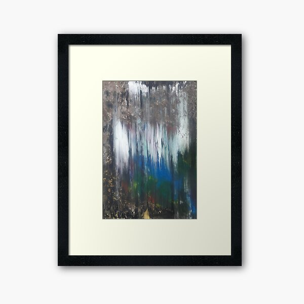Secret Grotto by Kristen Brown Framed Art Print