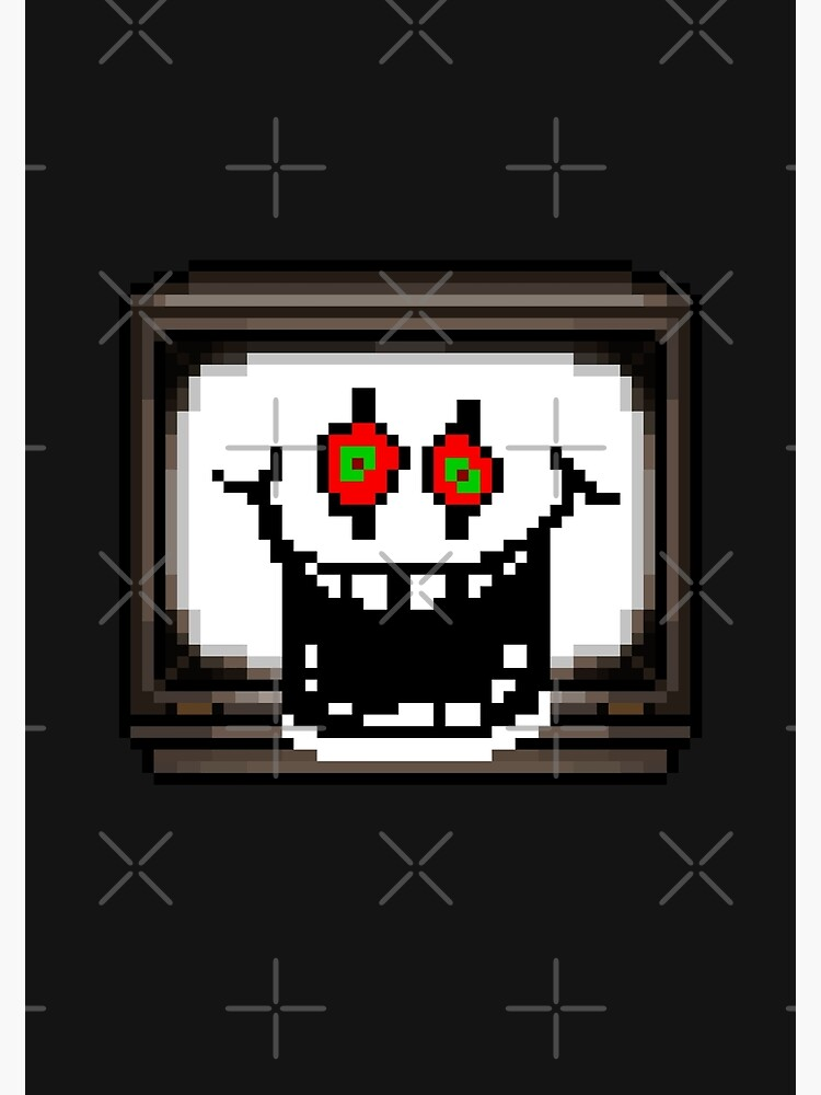 Flowey Omega Undertale Pixel Art Greeting Card By Geeksomniac Redbubble I imaging that flowey is taking from when they were asriel channel surfing as how quickly the. redbubble