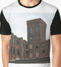 #town #facade #architecture #city #sky #outdoors #brick #old #ancient #religion #tower #horizontal #colorimage #famousplace #locallandmark #nationallandmark #residentialdistrict #nopeople Graphic T-Shirt