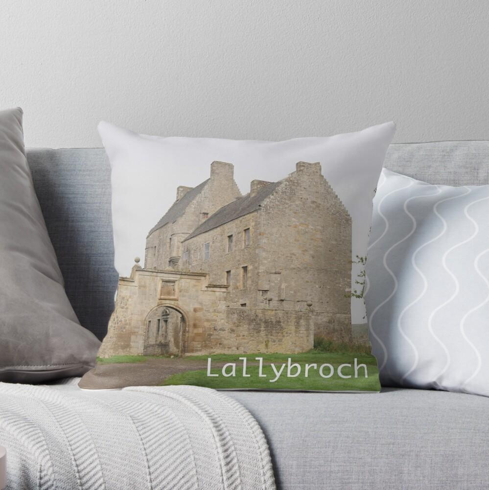 Midhope Castle , near Edinburgh , Scotland Throw Pillow